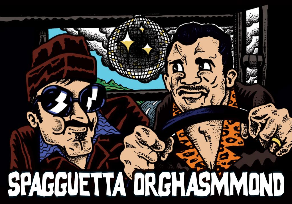 SPAGGUETTAORGHASMMOND-sticker